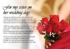 Letter To Sister In Law On Her Wedding Day