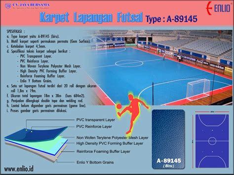 Daftar Karpet Lapangan Futsal harga lantai futsal polypropylene archives enlio id