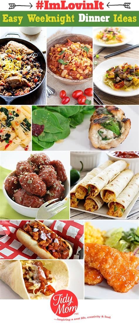 unique dinner ideas easy weeknight dinner ideas