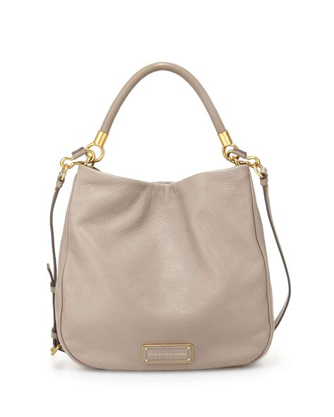 New Marc By Marc Bags At Neiman by Marc By Marc To Handle Hobo Bag In Gray Lyst