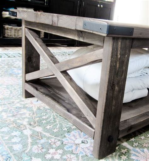 Rustic Coffee Table Diy Coffee Tables White And Rustic On
