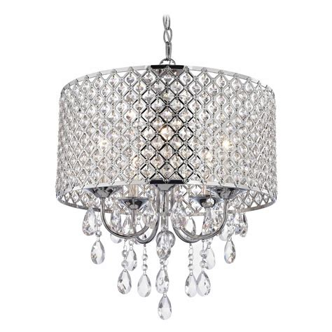 How To Make A Drum Shade Pendant Light Chrome Chandelier Pendant Light With Beaded Drum Shade 2235 26 Destination