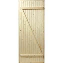 porte service bois porte de service bois sapin poussant droit h 205 x l 80