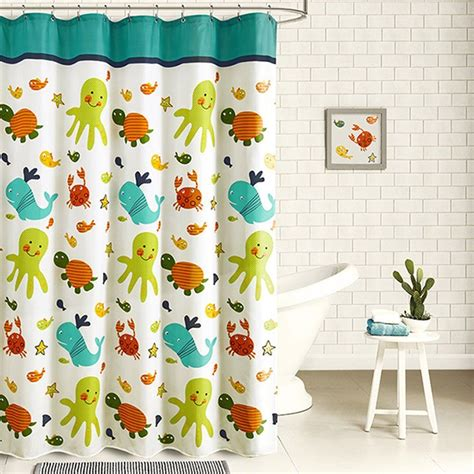 kids shower curtains 30 kids shower curtains with cute funny and colorful designs