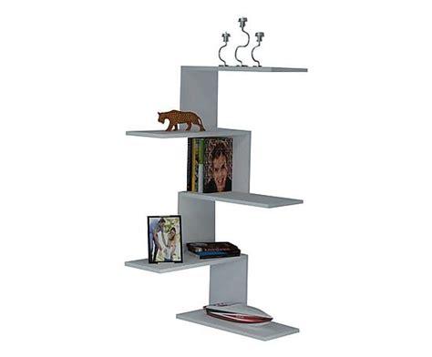libreria angolare legno libreria angolare da parete con 5 ripiani canico bianco