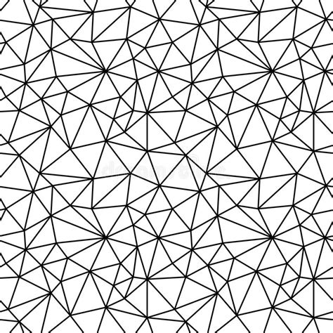 polygon pattern vector geometric black and white hipster fashion polygon