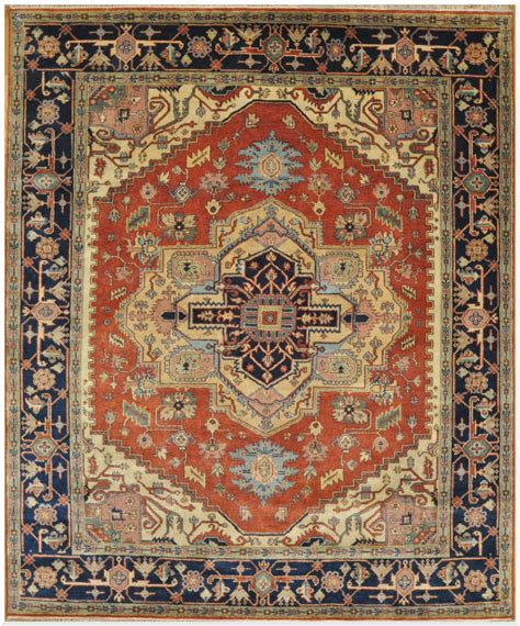 8 X 10 New Serapi Design Rug Surena Rugs New Rugs