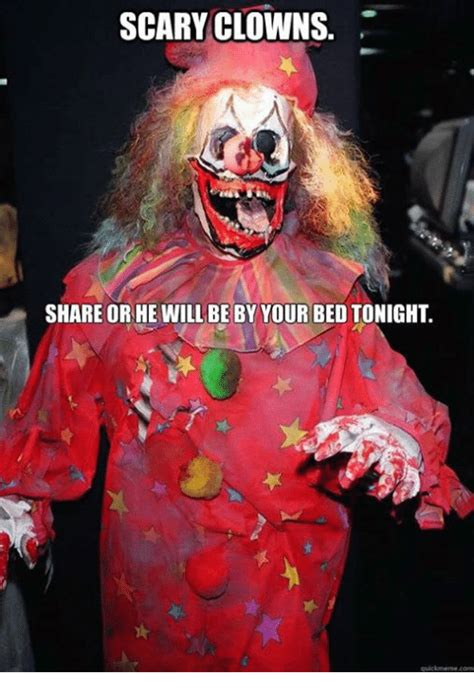 go to bed clown 25 best memes about scary clowns scary clowns memes