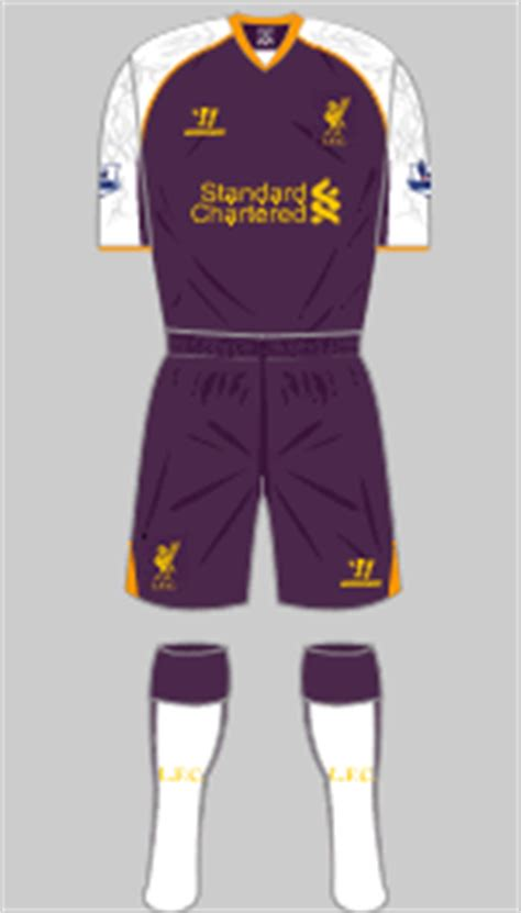 Jersey Liverpool Third 2012 2013 liverpool change kits historical football kits