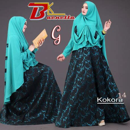 Kenna Seximo Vol 3 By Baenetta kokora 14 g baju muslim gamis modern