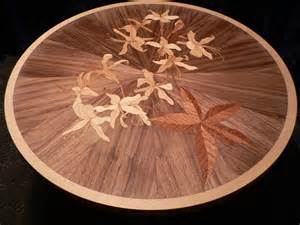 Cherry Nightstand Gallery Of Marquetry Motifs And Designs