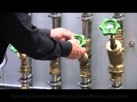 Wasser Abstellen Haus by Montageschleuse Ventil Umbau
