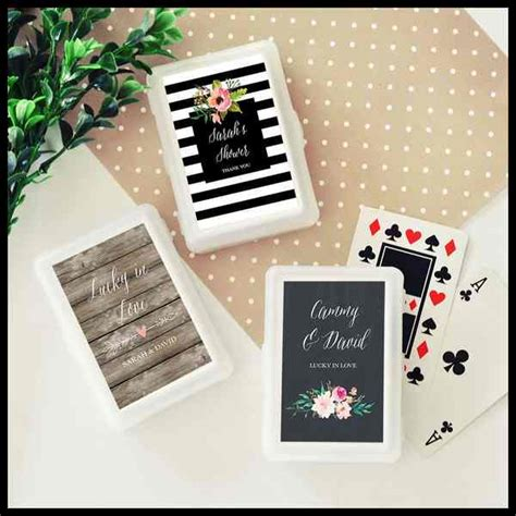 Wedding Favors Cards by Deck Of Cards Wedding Favors Weddings