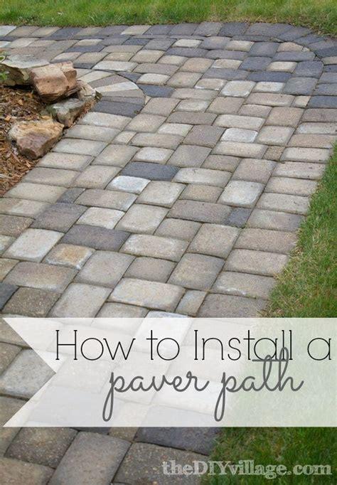 backyard pavers diy best 25 paver walkway ideas on pinterest walkways