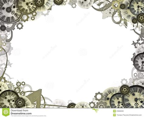 Steampunk Clock Clipart (66+)