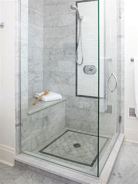 walk in shower designs with bench seamless glass shower design ideas