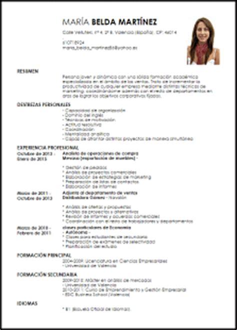 Modelo Curriculum Vitae Joven Modelo Curriculum Vitae Analista De Operaciones De Compra Livecareer