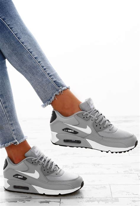 Nike Air Max 90 3 nike air max 90 grey trainers pink boutique