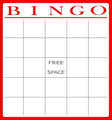 Https Tipjunkie Bingo Card Templates by Free Bingo Card Template Bingo