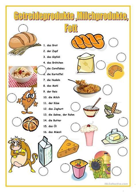 getreideprodukte deutsch lernen deutsch lernen