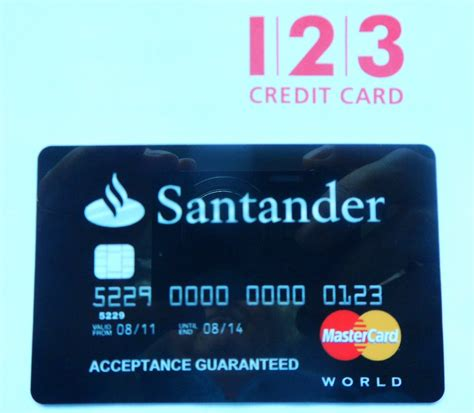 santander  credit card   condition    ph flickr