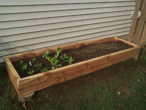 pallet garden bed diy raised bed garden pallet ideas pinterest