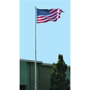 flag poles for home flag pole kit 20 ft telescoping flag pole