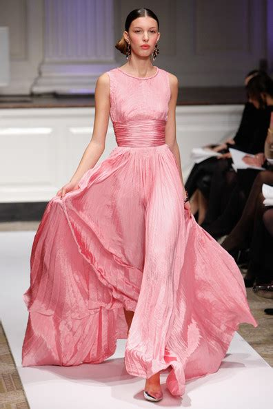 Dress Fg7353 Pink Sz 5 10th oscar de la renta pre fall 2012 collection runway