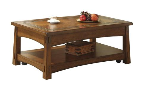craftsman lift top coffee table riverside frontroom