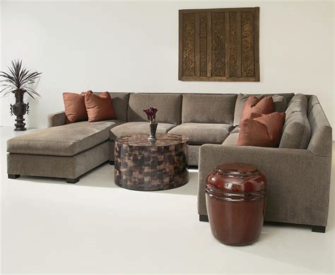 Kelsey Sectional by Bernhardt Interiors Kelsey 4 Sectional With Chaise