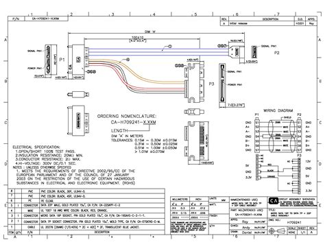 sata cable diagram sata cable pinout diagram 25 wiring diagram images