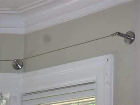 Cable Rideau Ikea by Ikea Curtain Wire Rod Hanging System Stainless Steel