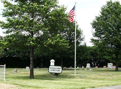 Johnson County Kansas Records Mount Calvary Cemetery Johnson County Kansas