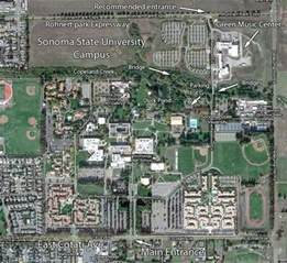 Sonoma State University Map by Sonoma State University Campus