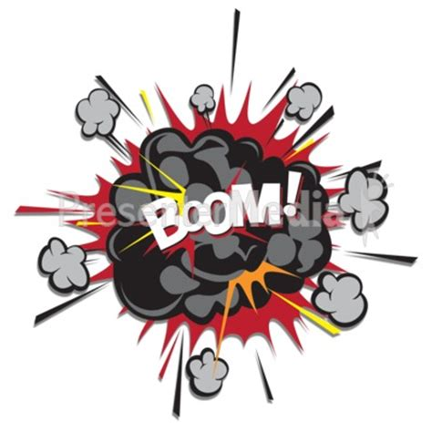 Explosion Puff Boom Presentation Clipart Great Clipart For Presentations Www Explosion Animation For Powerpoint