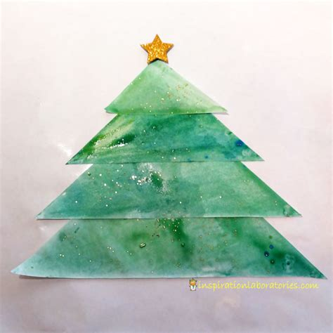 christmas science advent calendar baking soda painted