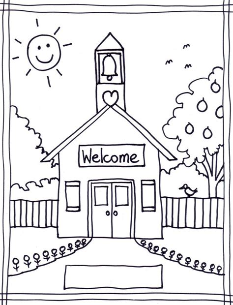 school coloring page to print best 25 preschool coloring pages ideas on