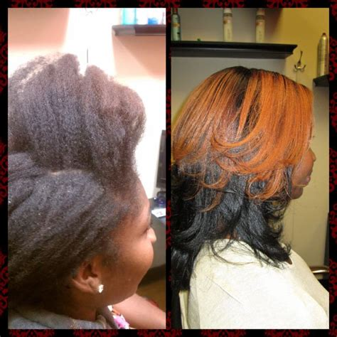 brazilian blowout before and after african american hair pin by shamona dixon on natural hair blowouts pinterest