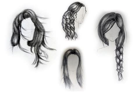 step by step hairstyles to draw cool and easy anime drawings great drawing