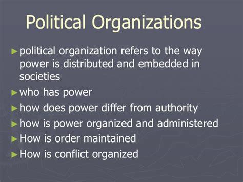 political organizing danny maribao lesson 8 political organization