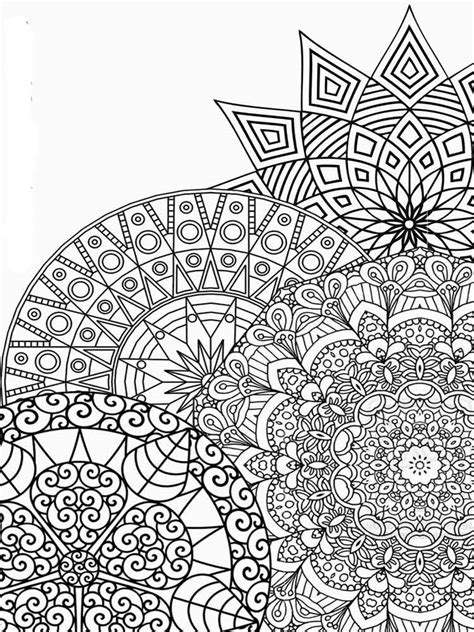 Detailed coloring pages for adults. Free Printable