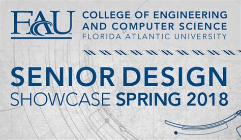project showcase fau engineering senior design showcase