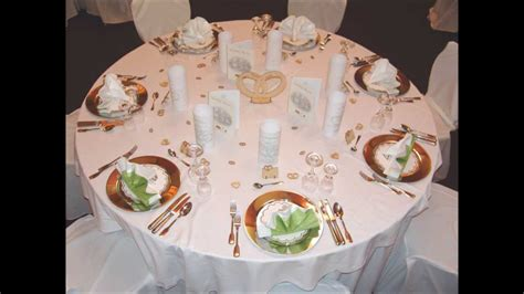 Dekoartikel Zur Hochzeit by Tischdeko F 252 R Hochzeiten Goldenehochzeit Oder
