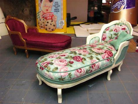 make a chaise lounge dollhouse miniature furniture tutorials 1 inch minis