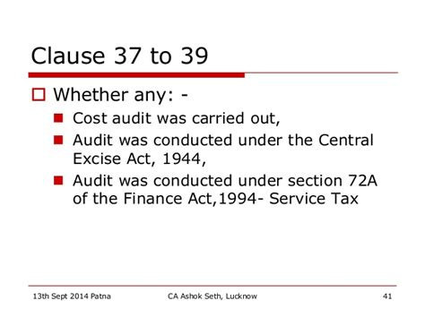 section 72a tax audit changes and issues patna sept 2014