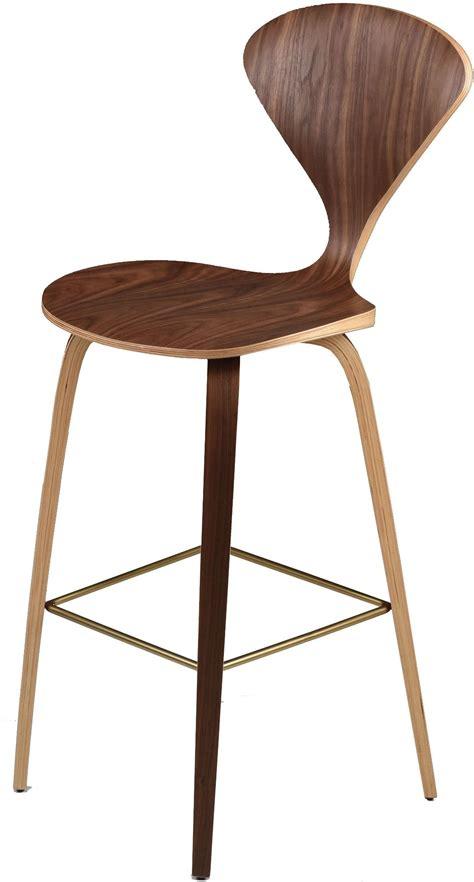 Nuevo Furniture Bar Stools by Satine Walnut Bar Stool Set Of 2 From Nuevo Coleman