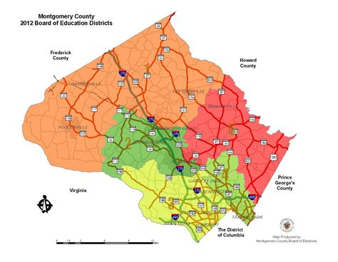 maryland election map 2012 2014 county general