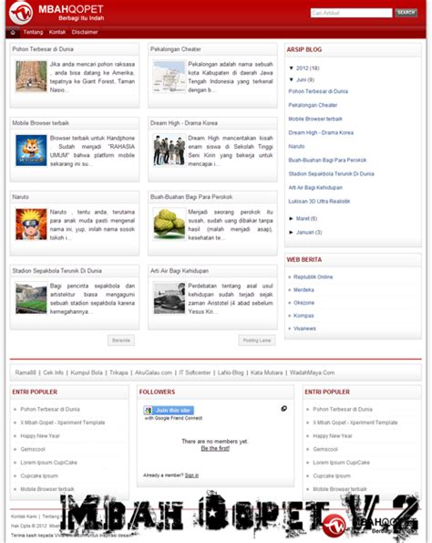 download template blogspot seo friendly terbaru belajar blog