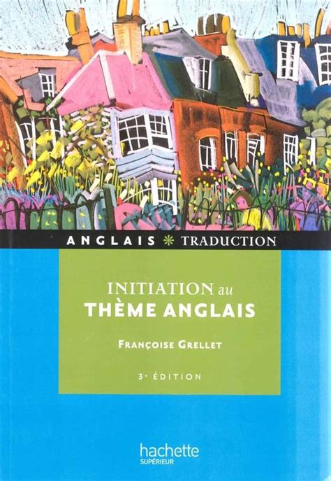 initiation theme in literature definition livre initiation au th 232 me anglais fran 231 oise grellet