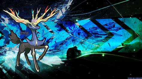 cool yveltal wallpaper xerneas desktop background 1600x900 by leobreacker on